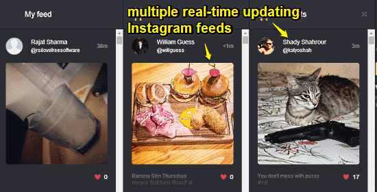 feed view picdeck