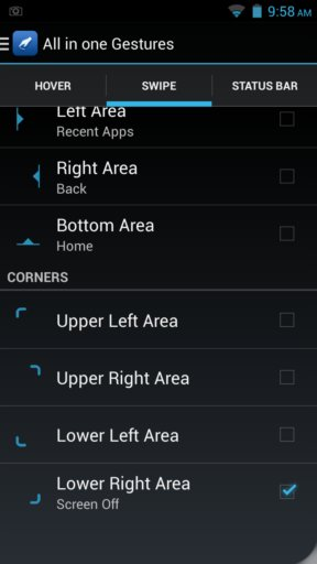 gesture apps for android 3