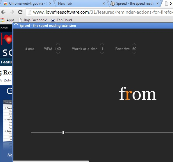 google chrome speed reading extensions 1