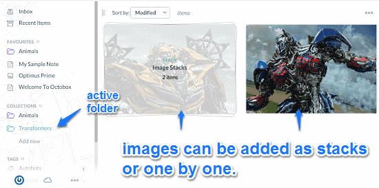 image stacks octobox