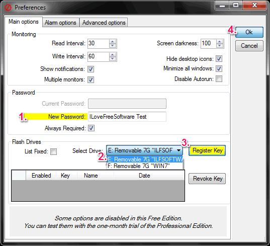 lock n unlock computer using pen drive - Predator
