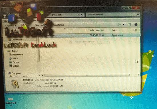 lujosoft desklock header image