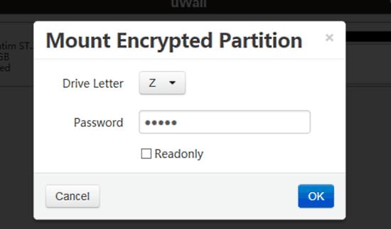 mount partition