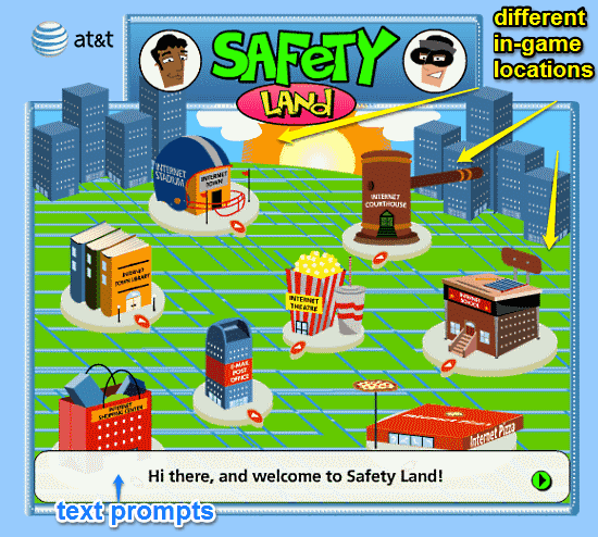 safety land ui