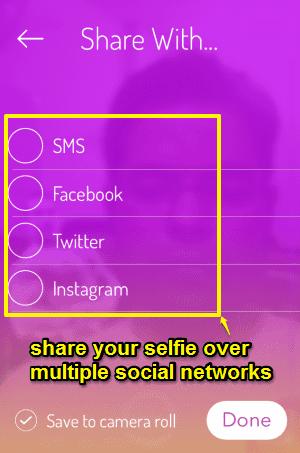 share selfie