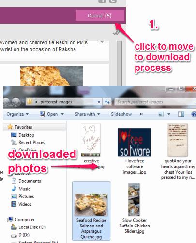 start download process