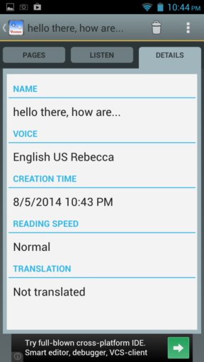 text to speech apps android 2