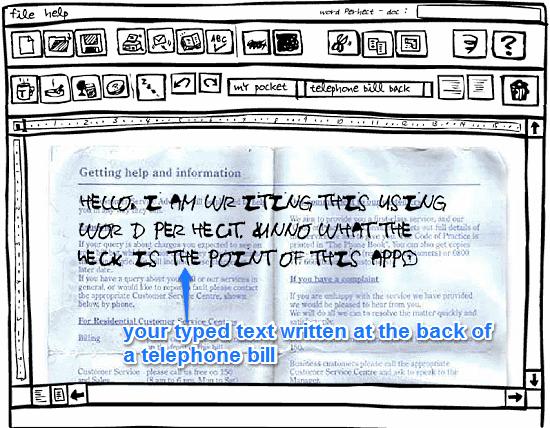 word perhect sample writing