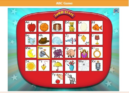 learn alphabets online
