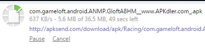 APK Download In Progress