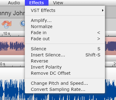 Adding Effects