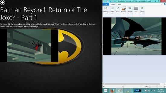 Batman Videos snapped view