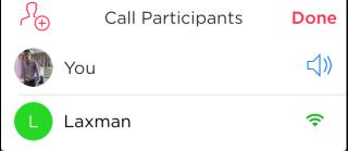 Chat Participants