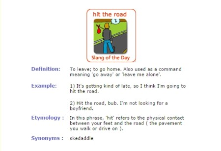 learn slangs online