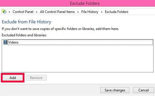 File History-Add