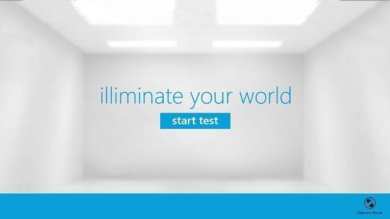 Illuminate Your World Main Screen