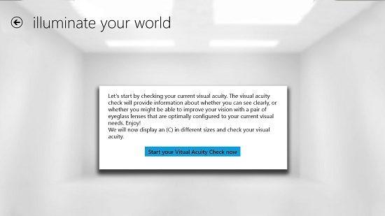 Illuminate Your World Start Test