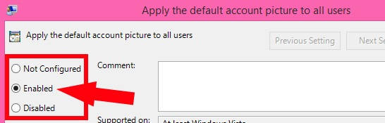 Make deafult Account Picture-Enabled