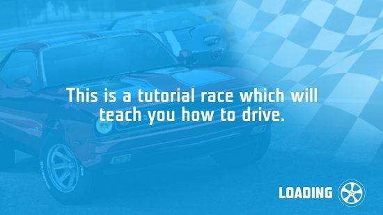 Need For Racing Main Screen
