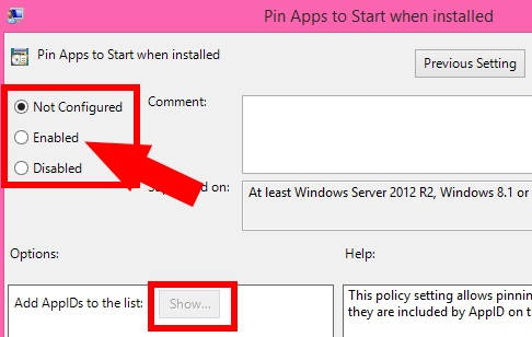 Pin Apps To Start When Installed-Enabled