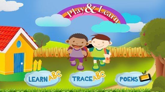 Play & Learn Main Screen