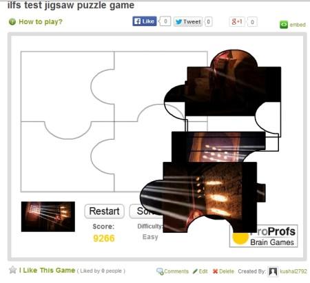 create jigsaw puzzles