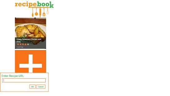 RecipeBook add recipe