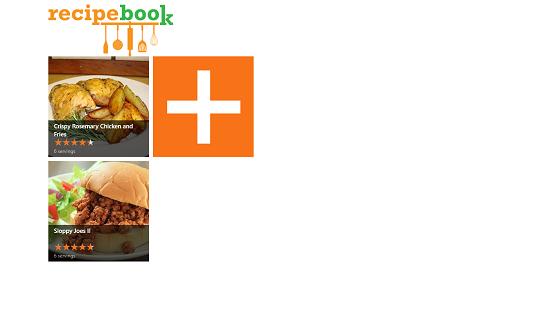 RecipeBook recipe added