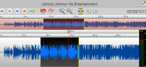 Selecting Editing Area