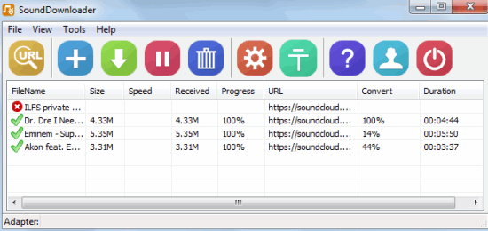 Free SoundCloud Downloader To Download Multiple Songs