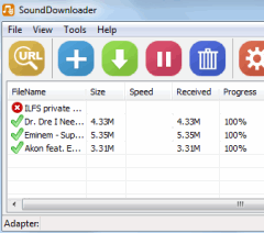 SoundDownloader- free SoundCloud downloader