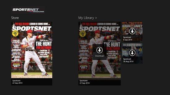 Sportsnet Magazine magazines available