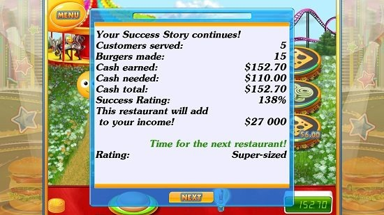 Success Story! game performance