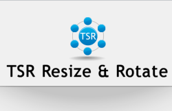 TSR Resize and Rotate- free software to batch resize and convert images