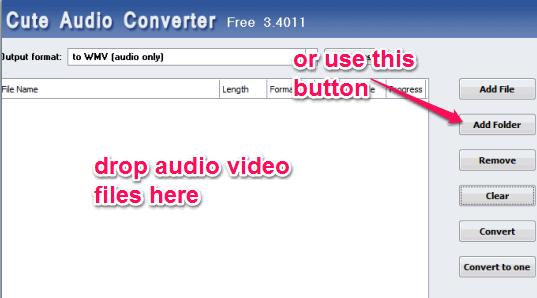add audio video files
