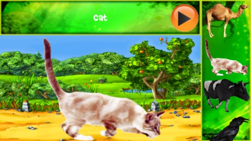animal name learning apps android 5