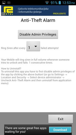 anti theft alarm apps for Android 4