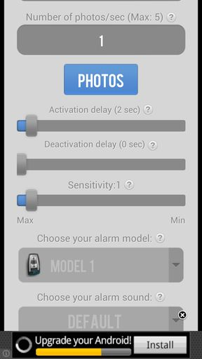 anti theft alarm apps for Android 5