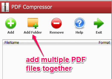 bulk add PDF files