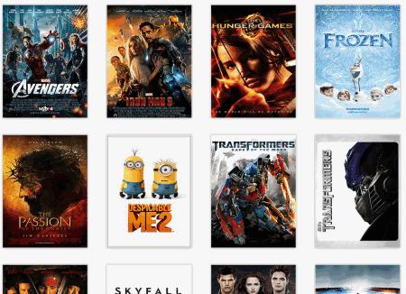 covert art of movies