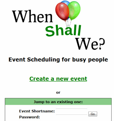 create a new event option