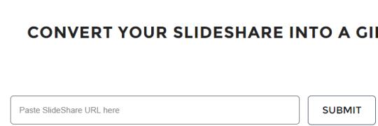 enter Slideshare URL