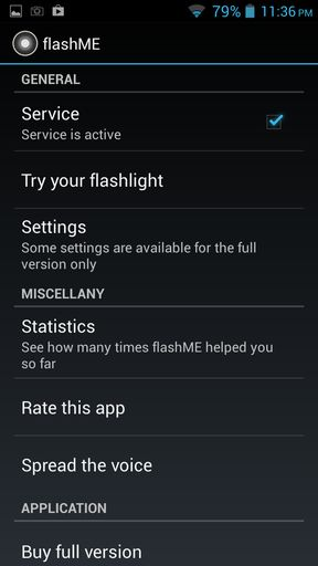 flash alert apps for Android 4