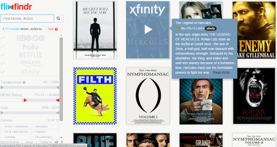 flixfindr- search for movies