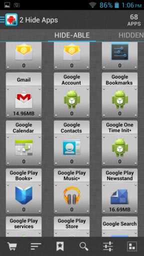 hide apps apps android 3