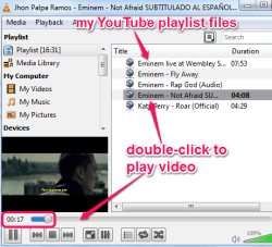 import YouTube playlist in VLC