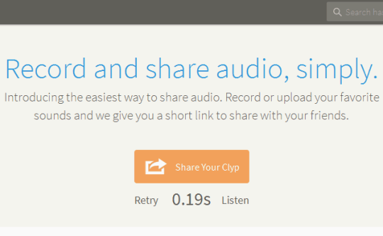 listen to your recording and share online