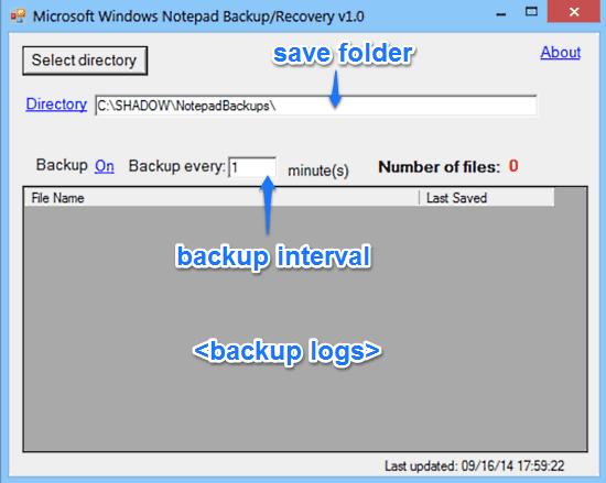 notepadbackupmanager