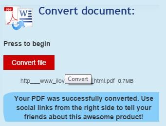pdf to word converter chrome 3