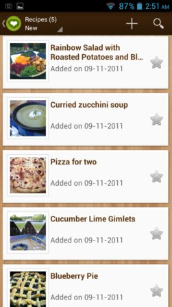recipe manager apps android 2